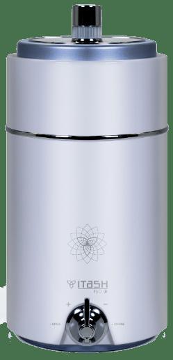 ITASH H2O ho té tot. Aigua de qualitat i saludable a la teva llar i necessita molt poc espai. Un aparell únic dins del catàleg de Star Health