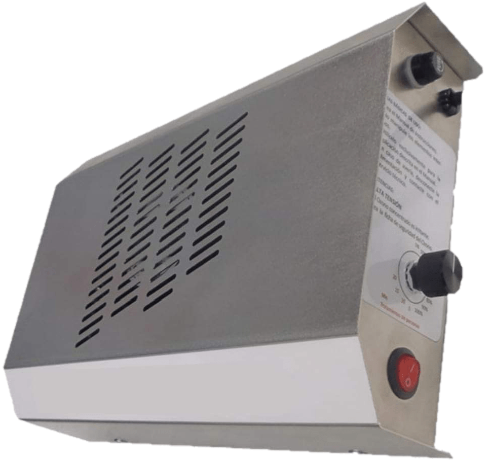 Nou generador d'ozó amb les més modernes prestacions.