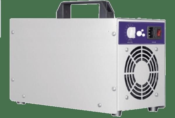 Canó generador d'ozó portàtil. Perfecte per desinfectar el teu local.