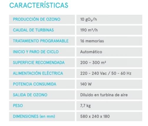 Característiques especials del generador d'ozó de paret de l'empresa Star Holding.
