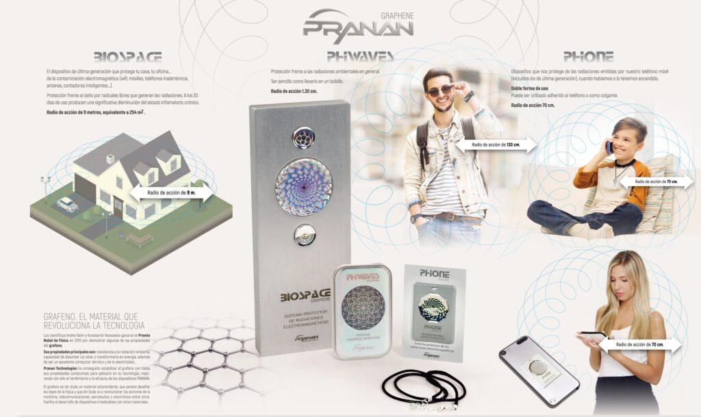 Informació de com funciona la protectora de radiacions electromagnètiques STARPRANAN.