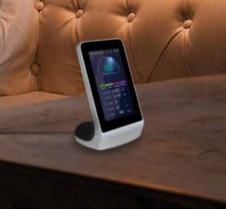 HAC STAR és un mesurador de la qualitat del aire que et permet saber el que tens al costat.