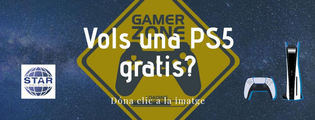 Si vols una PlayStation 5 gratis visita el blog de Star Holding.