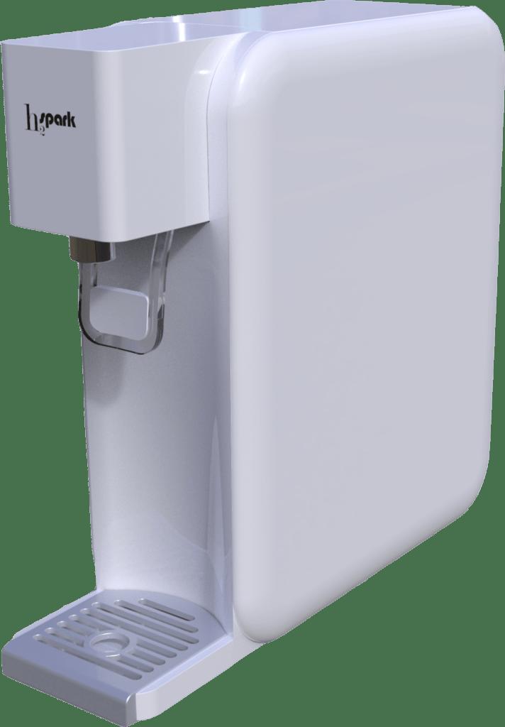 Star Sparck és un generador d'aigua hidrogenat que vol fer-te sentir millor.