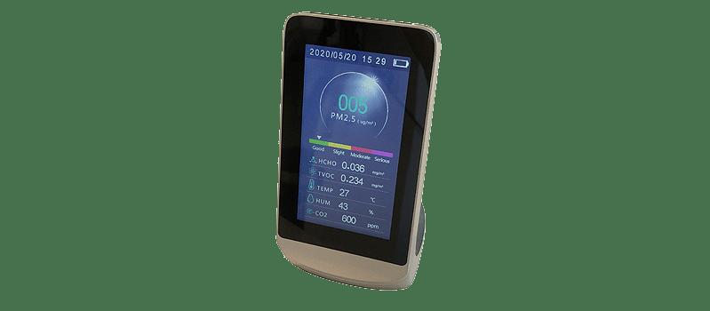 el mesurador de la qualitat de l'aire hac 50 forma part de l'pack airstar